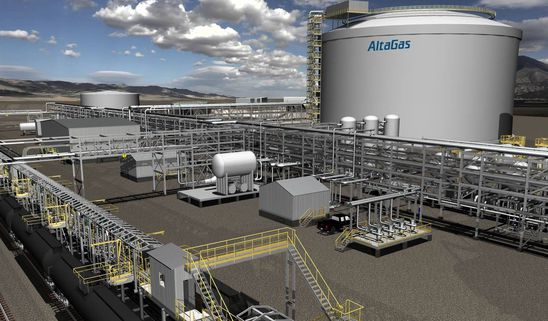 AltaGas to open B.C. terminal for exporting propane to Asia
