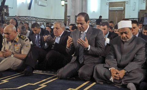 Egypt's president calls for revolution in interpretation of Islam in face of militancy