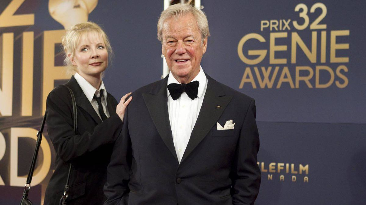 Gordon Pinsent and his daughter Leah.