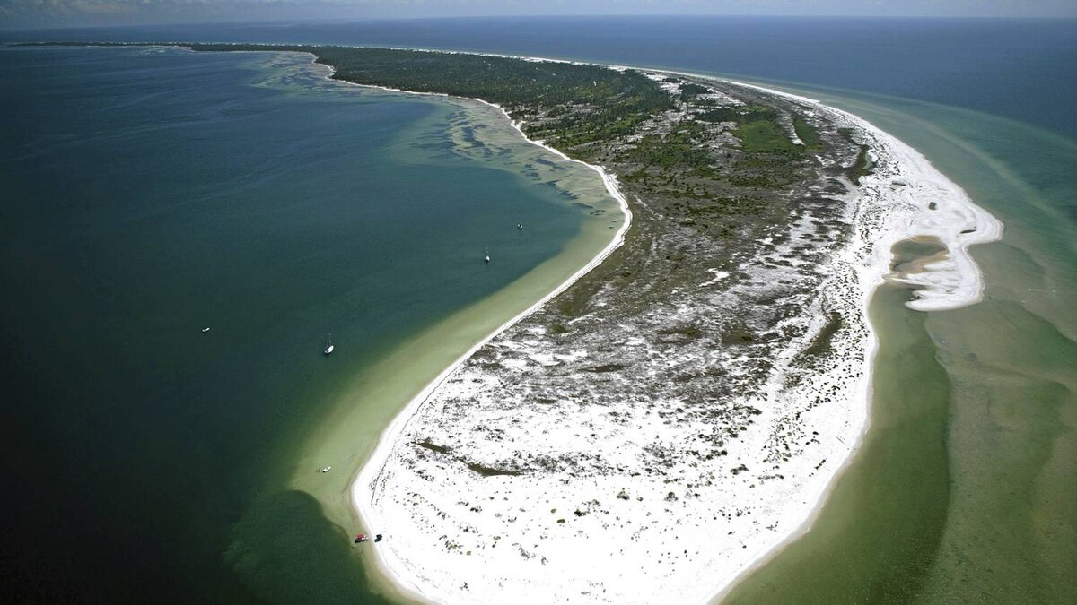 Cape San Blas, one of the more beautiful drives on the Gulf Coast.