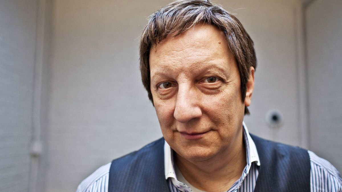 Robert Lepage, playwright, actor, director and creator of Blue Dragon is seen in Toronto at the Mirvish Productions offices on January 8, 2012.