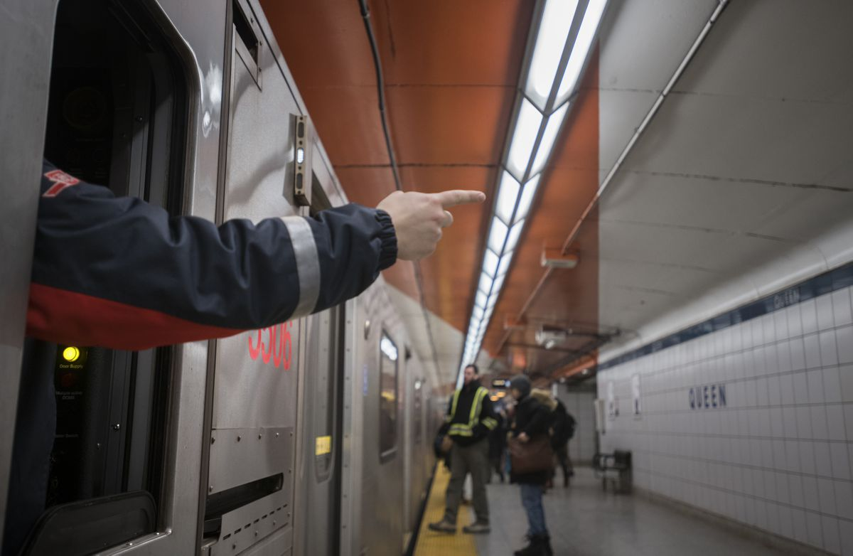 Automation will mean the end of an unusual, but effective, safety practice on the TTC's Yonge line