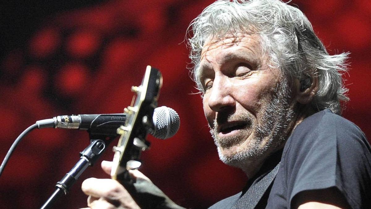 Roger Waters performs The Wall on the first show of the tour at the Air Canada Centre in Toronto, September 15, 2010.