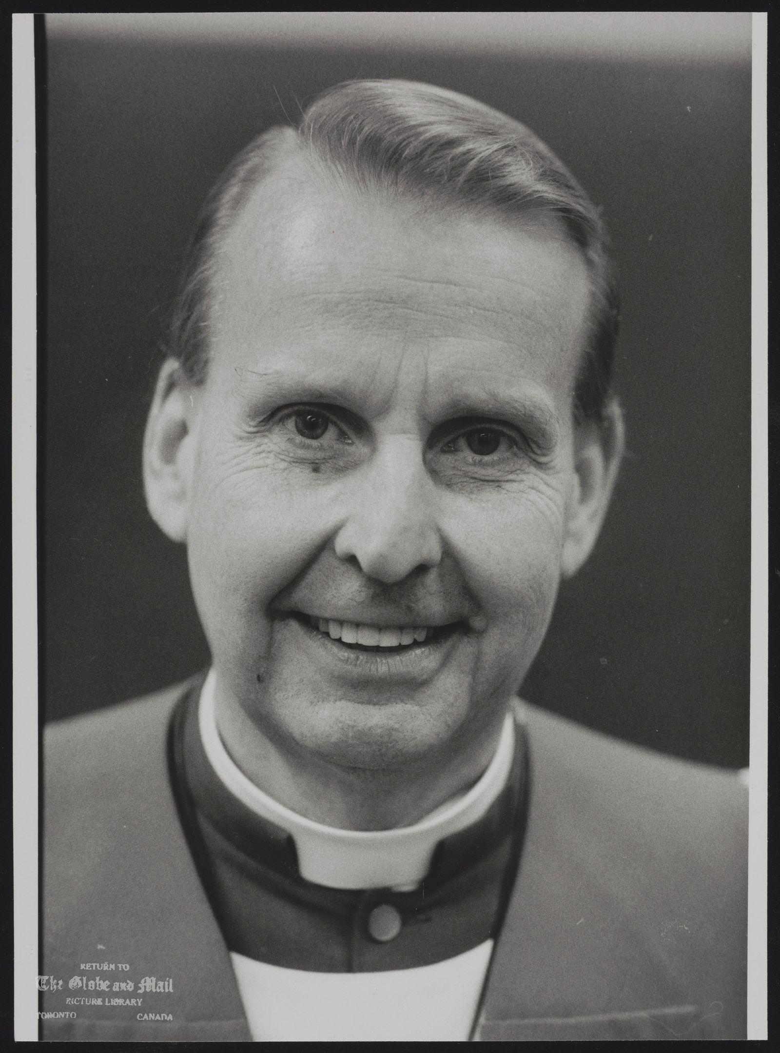 Terence FINLAY Toronto. Anglican Church
