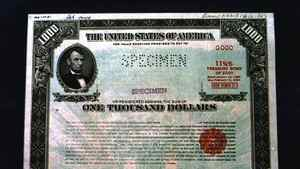 WAS04:ECONOMY-DEBT:WASHINGTON,13DEC00 - The U.S. Treasury, is set to start buying back up to $30 billion of governmental debt this year, Treaury Secretary Lawrence announced January 13. The government has not conducted buybacks since the 1970s but the emergence of budget surpluses in recent years has made it possible for Treasury to add buybacks to its tools for managing the nation's debt. bm/HO Photo