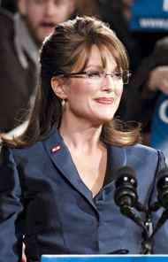 Julianne Moore plays Sarah Palin in the HBO movie Game Change.