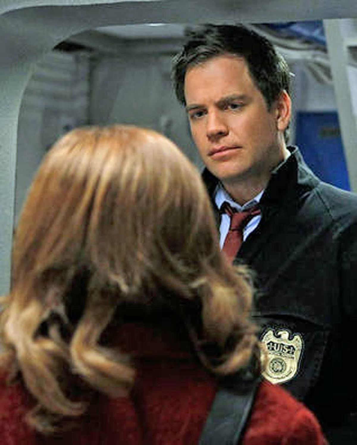 DRAMA NCIS CBS, 8 p.m. Network television's highest-rated crime-procedural series takes a slight format twist in this rebroadcast from last season. In lieu of the usual cloak-and-dagger plotline, the episode begins with the murder of a top-ranked naval commander aboard his own ship. Enter the psychological evaluator Dr. Rachel Cranston (Wendy Makkena), who methodically interviews each member of the NCIS team, one by one, to discover what really happened. Veteran character player Michael Nouri returns to his recurring role of former Mossad agent Eli David.
