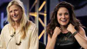 Mamie Gummer (left) and Canada?s Caroline Dhavernas are in Off The Map, an ABC show debuting Wednesday.