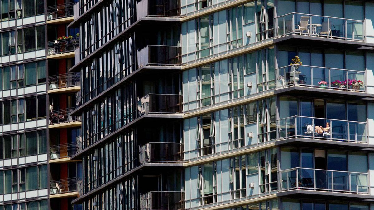 A condo complex in Vancouver. Canada's banking regulator is turning its eyes to possible speculation in the red hot condominium markets in Toronto and Vancouver.