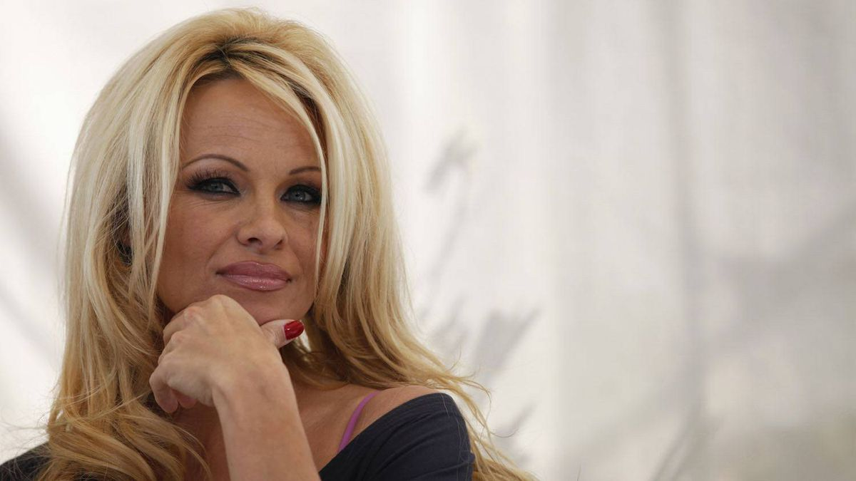 As for actress Pamela Anderson, she was assigned...