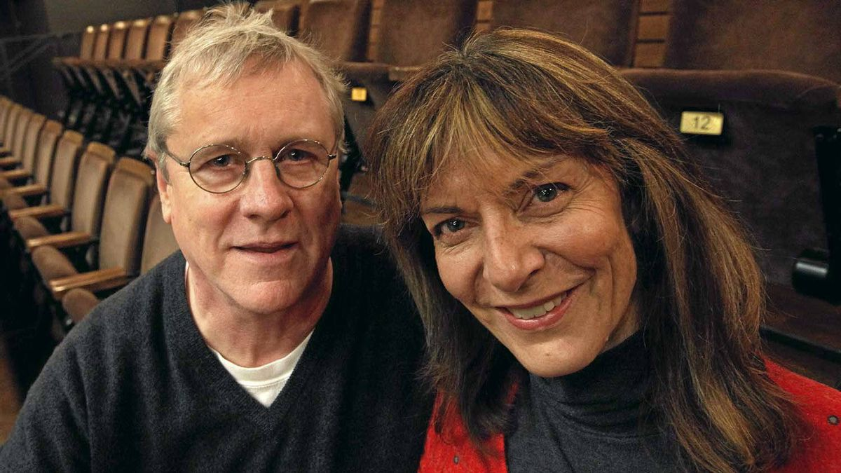 Joseph Ziegler and Nancy Palk: The married couple are playing Willy and Linda Loman in an upcoming revival of Death of a Salesman.