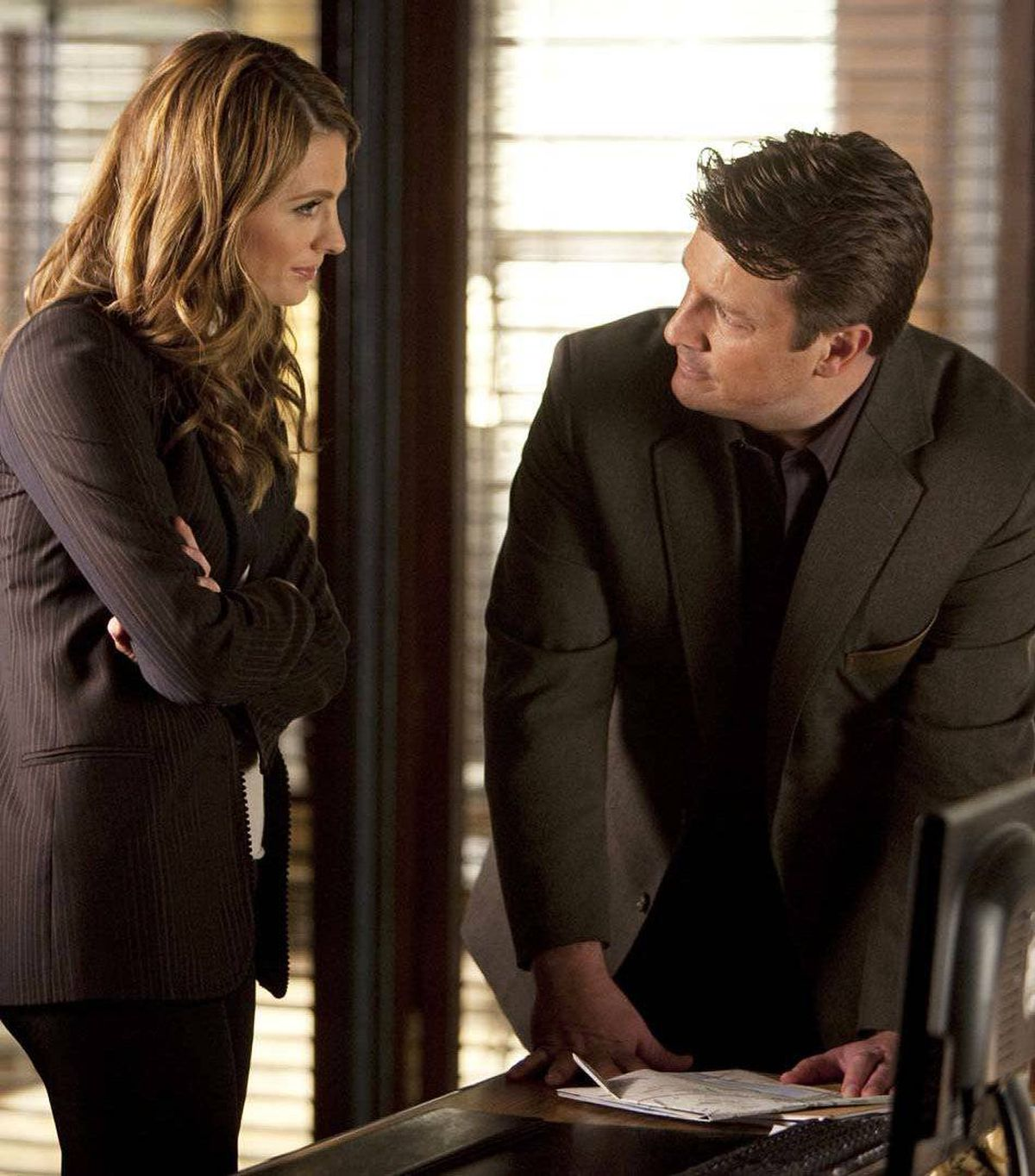 DRAMA Castle ABC, CTV, 10 p.m. ET/PT Canadian content on American prime time will dip slightly following tonight's fourth-season finale of this popular crime-drama. Those paying attention will know the show's entire appeal wrests on the sustained sexual tension between the handsome author-sleuth Richard Castle, played by Edmonton-born Nathan Fillion, and the tough but sexy NYPD detective Kate Beckett, played by Stana Katic, a native of Hamilton, Ont., but does their forbidden love have a future? In tonight's season ender, Beckett redoubles her efforts to find the man who shot her, particularly after he's the lead suspect in the murder of an army veteran. Castle has vital information on the case, but telling Beckett will compromise his author integrity. So what's more important? The babe or the book?