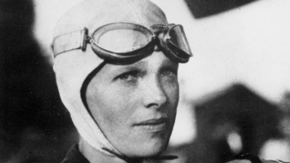 Amelia Earhart in an undated photo. (The Associated Press)