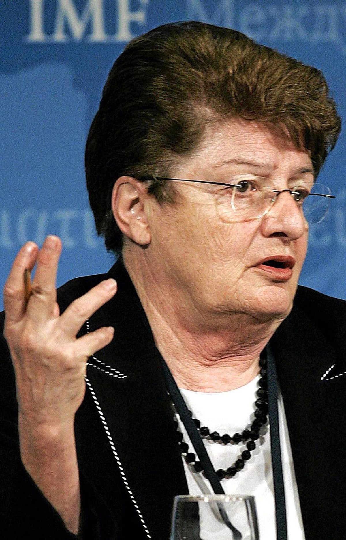 Anne Osborn Krueger Economist and former World Bank chief economist, she also was the IMF?s first deputy managing director from 2001 to 2006. She is also past president of the American Economic Association.