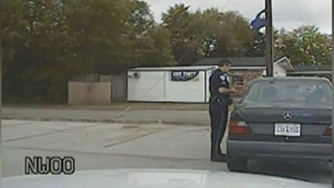 Dash cam video captures moments leading up to deadly U.S. shooting