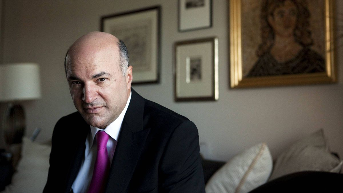 Kevin O'Leary is best known as an outspoken entrepreneur on CBC's Dragon's Den.