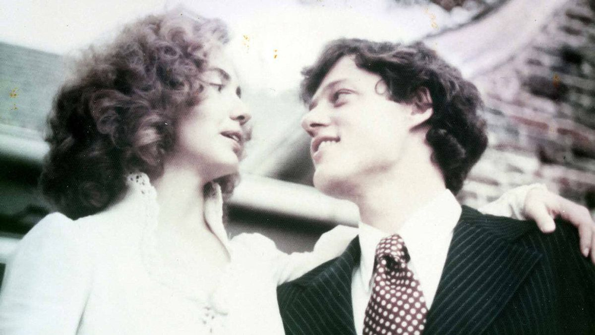 On her wedding day in 1975, Hillary Clinton went for all-out curls.