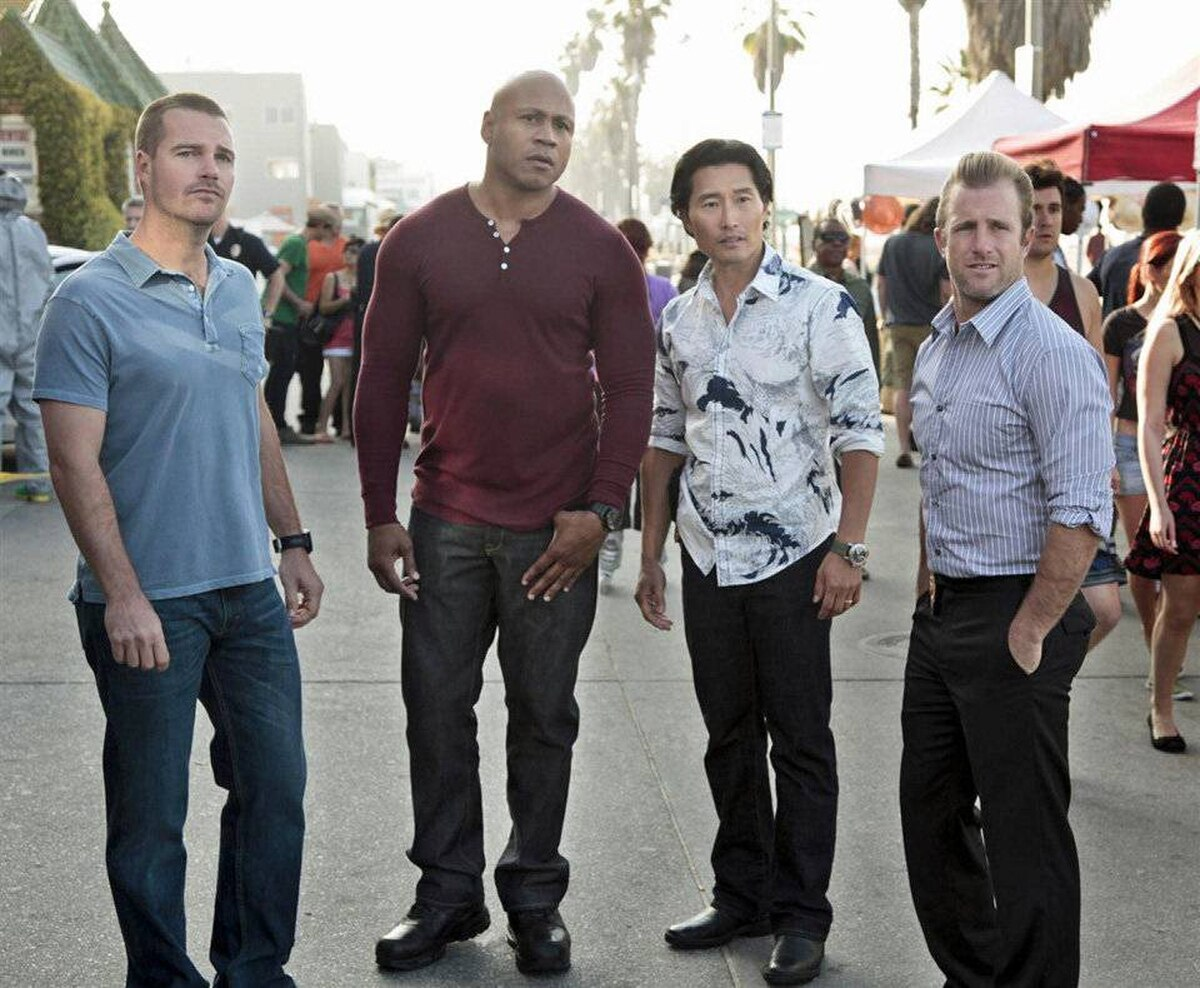 DRAMA NCIS Los Angeles CBS, Global, 9 p.m. ET/PT Did you watch last night's episode of Hawaii Five-O? If not, you missed a thriller story in which the Five-O cops teamed with the NCIS agents Callen (Chris O'Donnell) and Hanna (LL Cool J) to prevent a terrorist from releasing a deadly virus all over Hawaii. In tonight's conclusion episode, the suspect – and the virus – make the move to Los Angeles, with the Hawaii cops Danny (Scott Caan) and Chin Ho (Daniel Dae Kim) in hot pursuit. Note: If you're wondering why Hawaii Five-O star Alex O'Loughlin, who plays Steve McGarrett, isn't in on the chase, it's because the episode was filmed while he was in rehab for addiction to pain medication.