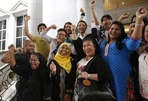 Malaysian transgender people win key court ruling against Islamic law banning cross-dressing