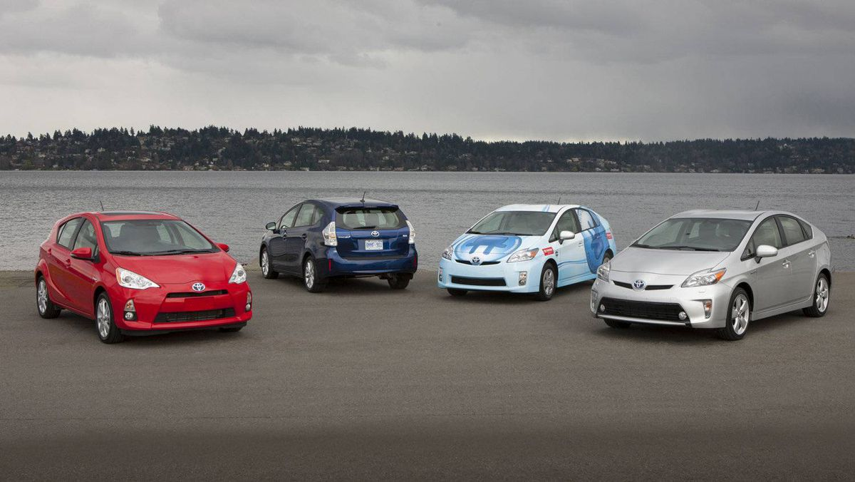 Toyota is selling boatloads of Prius family cars – not because the world wants to go green, necessarily, but because the company can now make the economic case for at least one, if not more, of the vehicles in the line.