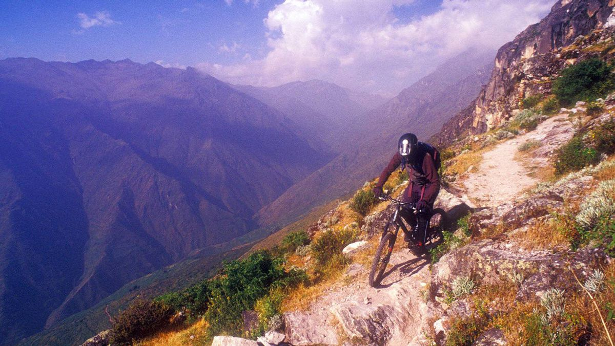 The Marcahuasi trail, Andes, Peru