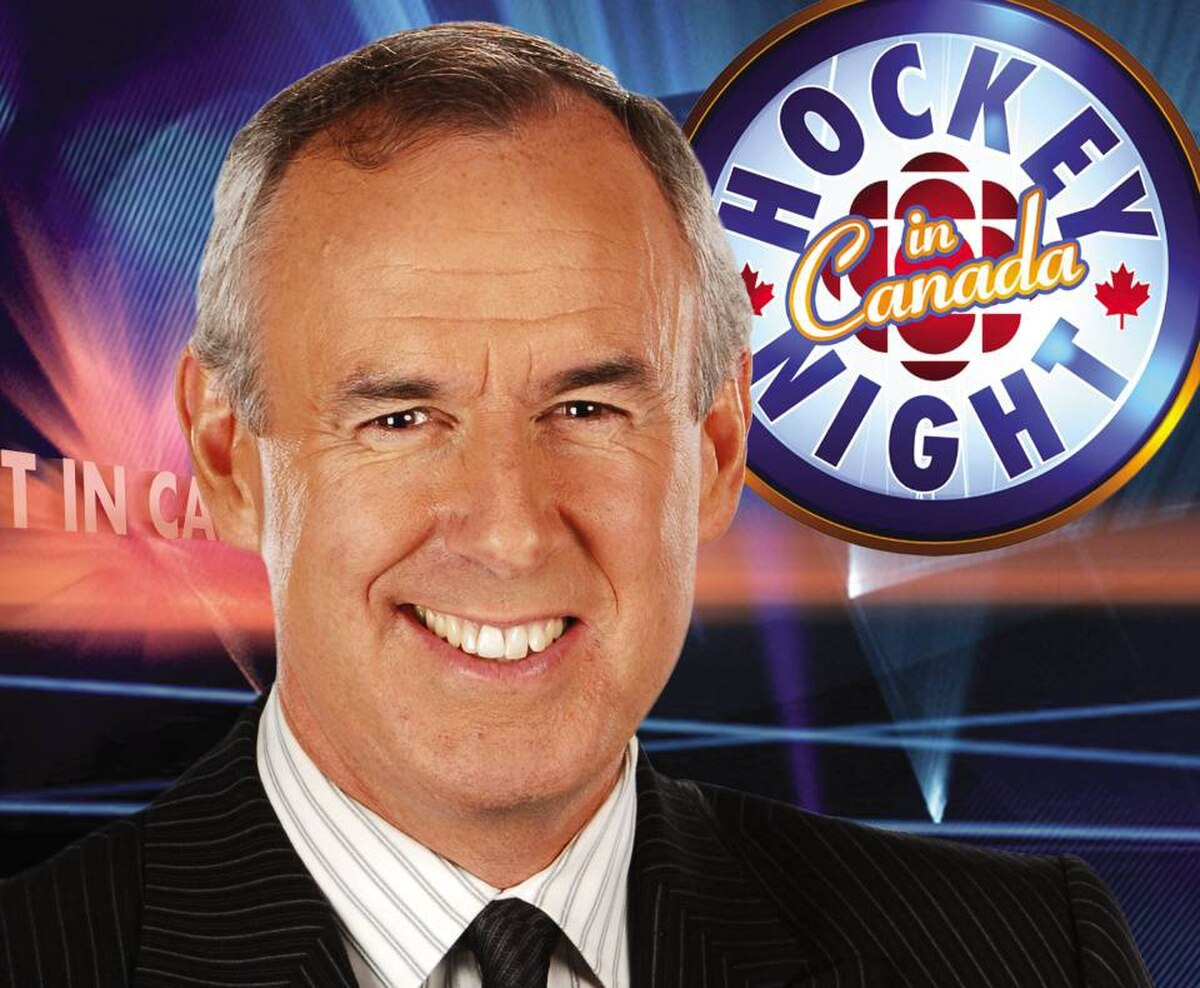'Hockey Night in Canada host' Ron MacLean.
