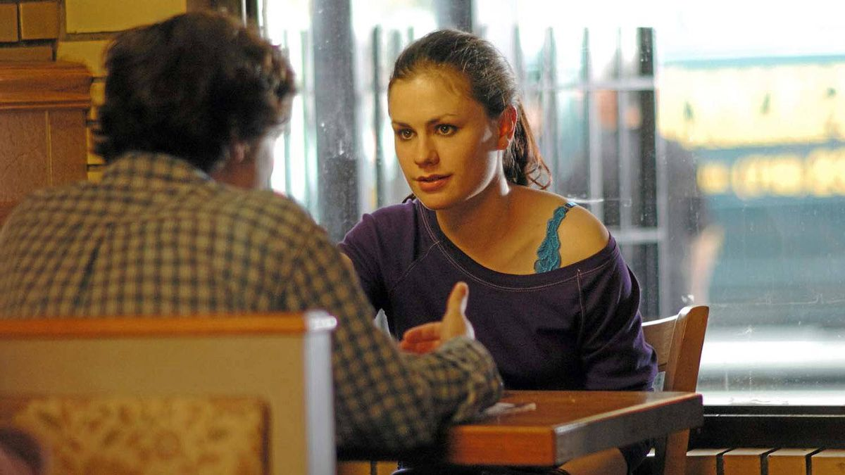 """Anna Paquin as Lisa Cohen on the set of """"Margaret"""""""