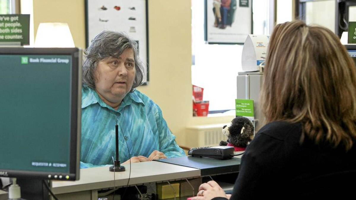Mary Hill, who suffers from chronic depression, says opening a bank account was transformative: 'It's given me some confidence, to know that I can manage a little bit of money.'