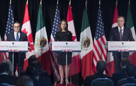 Trump's protectionism will dominate at the next round of NAFTA talks