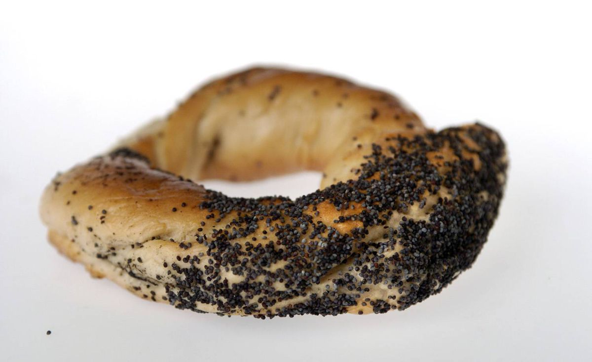Montreal-style bagel - No food item better encapsulates the Canada-U.S. rivalry. Unlike its flabby New York cousin, the Montreal bagel is boiled in sweetened water before it's baked in a wood-fire oven, which gives it that unmistakable crunchy outer crust and, some argue, hews closer to its artisanal European roots. In 2008, Montreal-born astronaut Gregory Chamitoff took some into space, cementing their standing as the best in the world, and beyond.