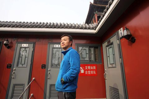 Mr. Wu's waterless outhouse starts a toilet revolution in China