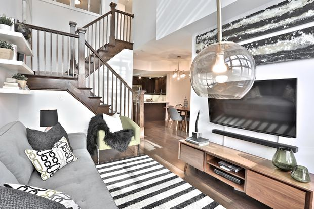 Sixteen Bidders For Liberty Village Townhouse The Globe And Mail