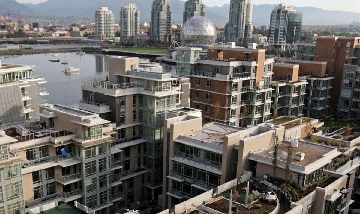 The Olympic village in Vancouver on Friday October 9, 2009.
