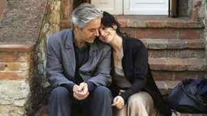 """Juliette Binoche and William Shimmell in a scene from """"Certified Copy"""""""