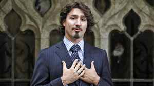 Liberal MP Justin Trudeau apologizes for using unparliamentary language in the House of Commons on Dec. 14, 2011.