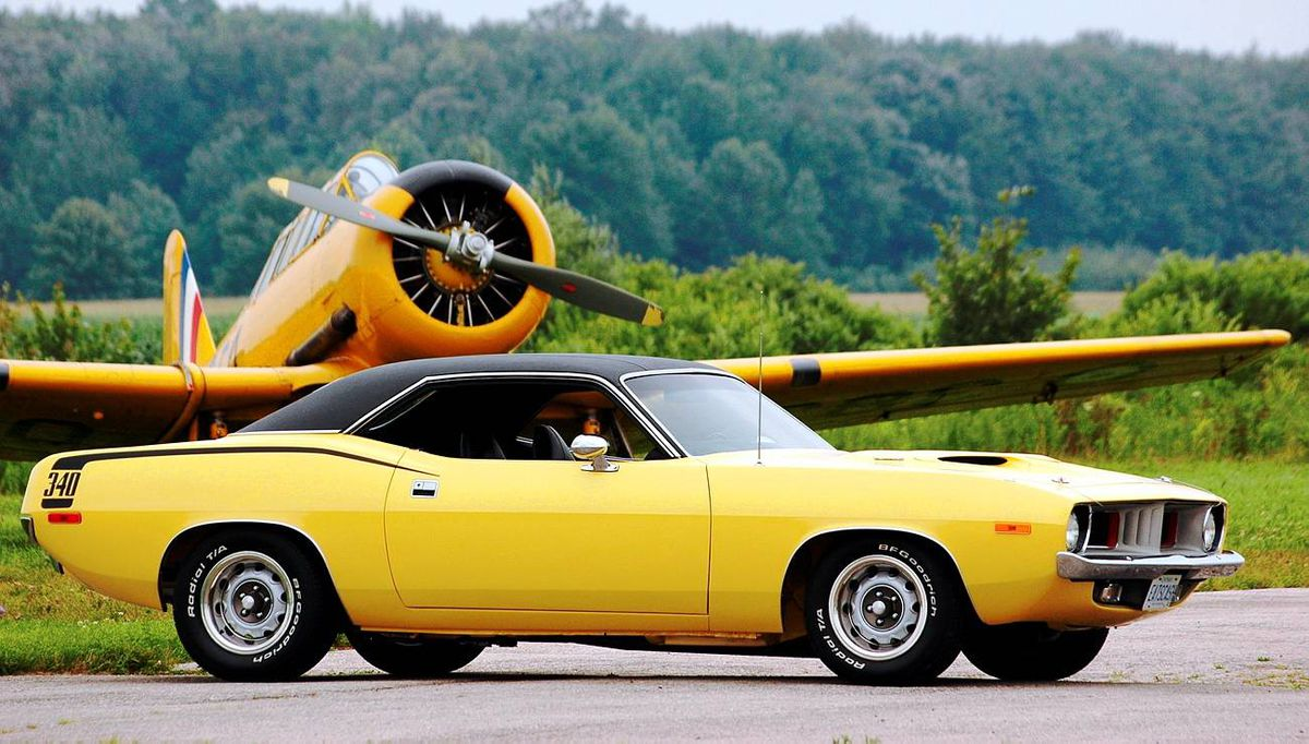 Josh Sanders was 14 and in Grade 9 when he bought his 'Cuda.