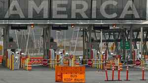 The United States border crossing in Lacolle, Que., south of Montreal, is shown Dec. 7, 2011.
