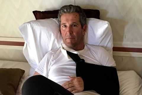 Pallister falls, fractures arm while hiking in New Mexico