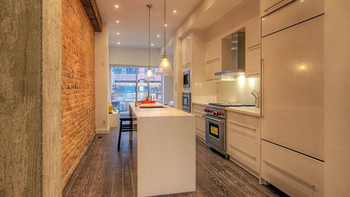 The birthplace of actress Beatrice Lillie, 68 Dovercourt Rd. has been totally renovated into a 'bright and open' home in the Beaconsfield Village neighbourhood of Toronto.