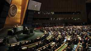 The Millennium Development Goals summit at the United Nations in New York. Jason Reed/Reuters