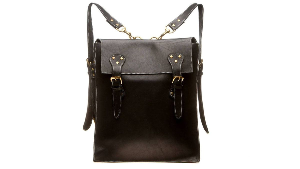 Philip Sparks Buffalo Backpack. $675 through www.philipsparks.com.
