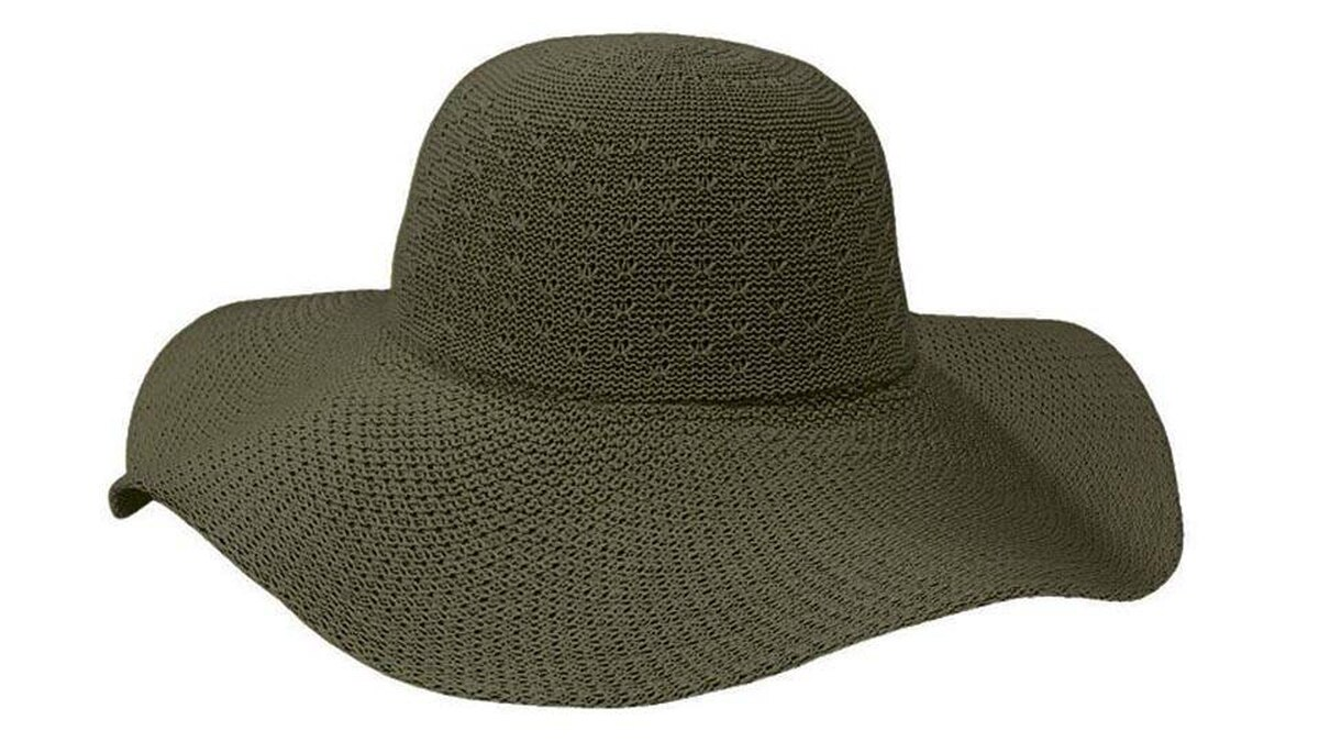 Coolibar's Packable Wide Brim Hat can take a beating. The resilient sun hat is made from a breathable polyester blend that has the look of straw and the strength of iron.