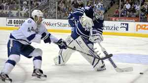 Toronto Maple Leafs goalie Jonas Gustavsson was good enough for the Leafs to walk away with a much-needed win.