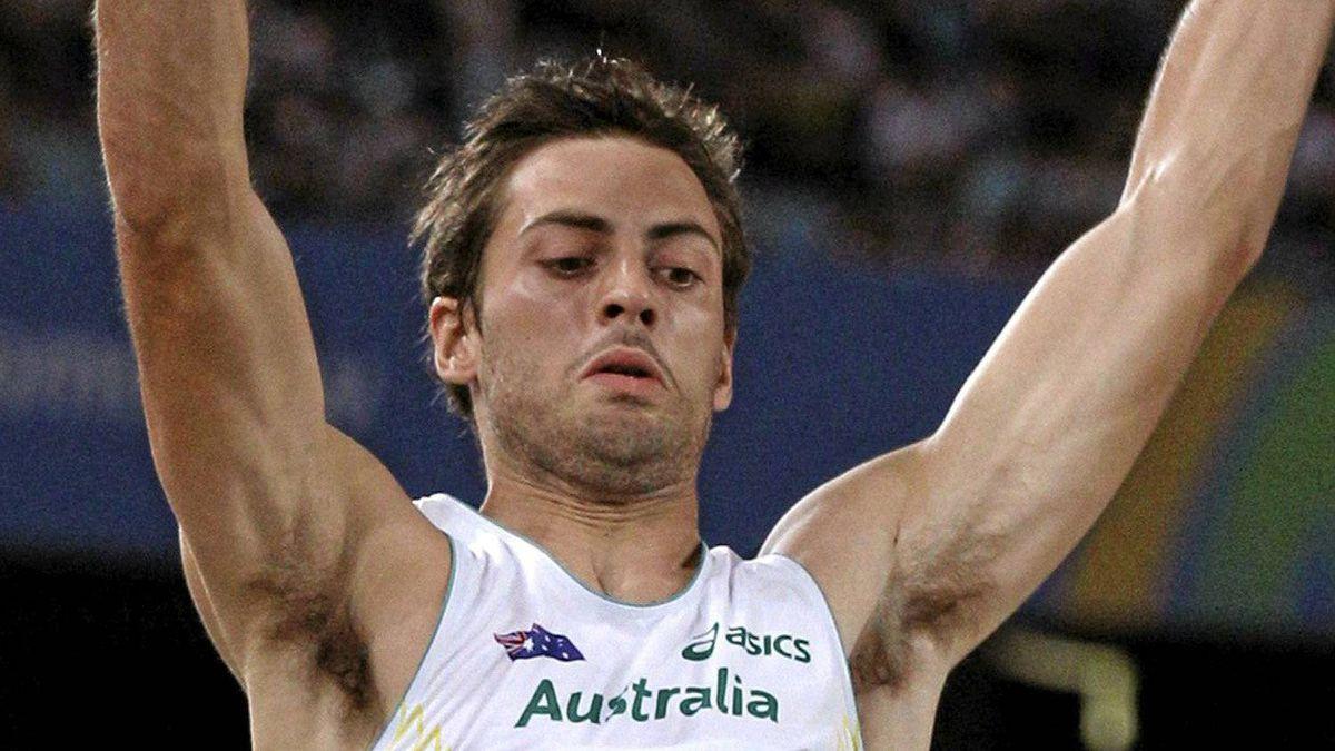 Australia's Mitchell Watt competes in the Men's Long Jump final at the World Athletics Championships in Daegu, South Korea, Friday, Sept. 2, 2011. (AP Photo/Kin Cheung)
