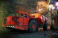 Production at Hudbay 777 mine in Flin Flon, Manitoba.