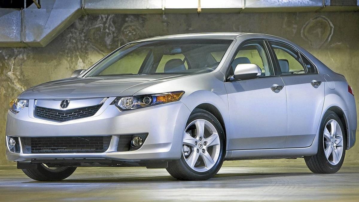 2009 Acura TSX__Credit; Honda