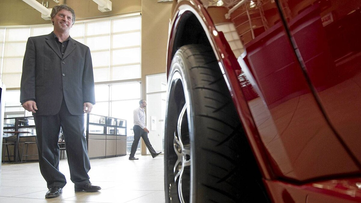 Pat Priestner, CEO of AutoCanada Inc., the first publicly traded company allowed to buy a stake in a General Motors dealership in Canada. May 2, 2012, in Edmonton.