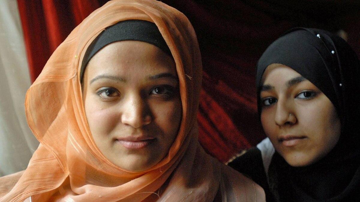 Ussra Hussain and Nafeesa Salar in Montreal.