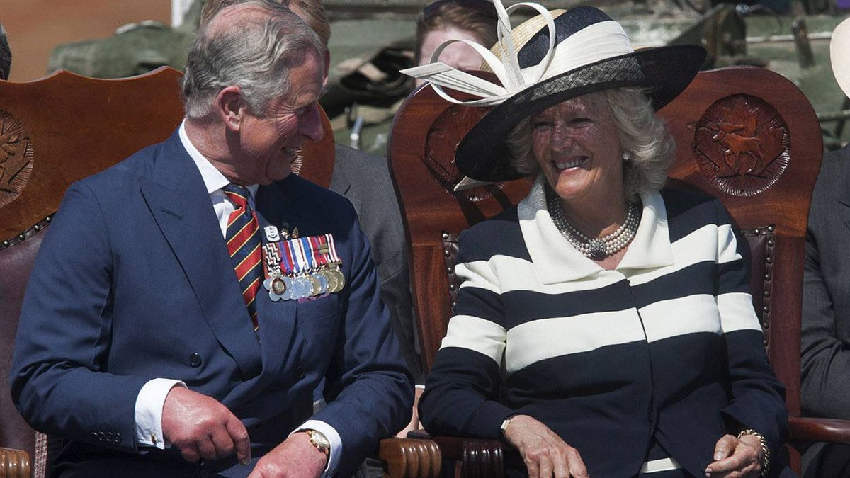 Prince Charles and his wife Camilla, the Duchess of Cornwall, attend a function at CFB Gagetown in Oromocto, N.B., on Monday, May 21, 2012. The royal couple is on a three-day tour with stops in New Brunswick, Ontario and Saskatchewan to mark the Queen's Diamond Jubilee.