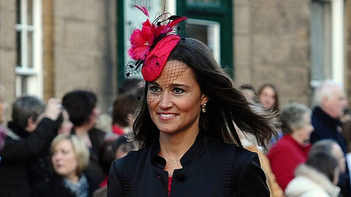 In the party: Pippa Middleton, sister of the bride, will be Kate's maid-of-honour